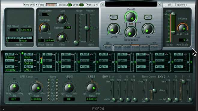 Logic Pro X The EXS24 Sampler TUTORiAL | Images From Magesy® R Evolution™
