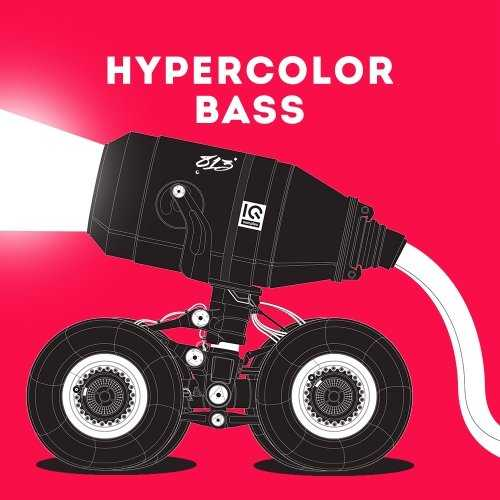 Hypercolor Bass WAV | Images From Magesy® R Evolution™
