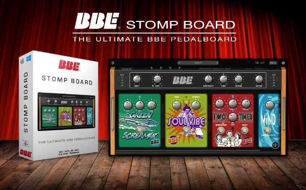 BBE Stomp Board v1.0.1 WiN MAC R2R | Images From Magesy® R Evolution™