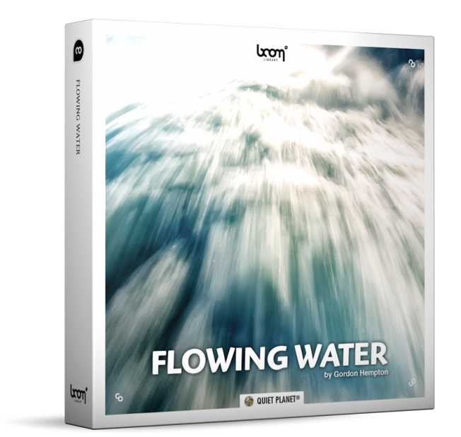 Flowing Water Sound Effects WAV | Images From Magesy® R Evolution™