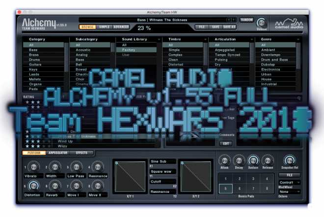 Alchemy v1.55.0.3366 FULL macOS READ NFO HEXWARS | Images From Magesy® R Evolution™