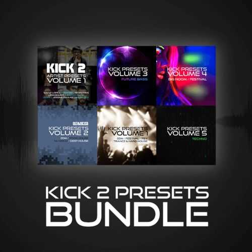 Kick 2 Preset Bundle | Images From Magesy® R Evolution™