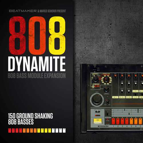 808 Dynamite Expansion for 808 Bass Module III SYNTHiC4TE | Images From Magesy® R Evolution™
