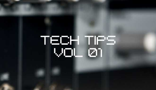 Tech Tips Volume 1 TUTORiAL | Images From Magesy® R Evolution™