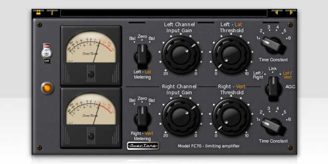 FC70 Fairchild 670 Limiter v2.3.x WiN MAC LiNUX R2R | Images From Magesy® R Evolution™
