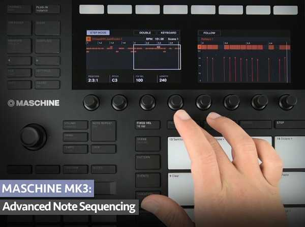 MASCHiNE MK3 Advanced Note Sequencing TUTORiAL | Images From Magesy® R Evolution™