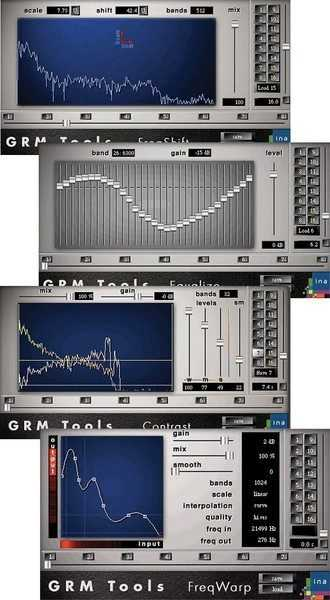 GRM Tools Spectral Transform v1.6.52 VST x86 WiN H2O | Images From Magesy® R Evolution™