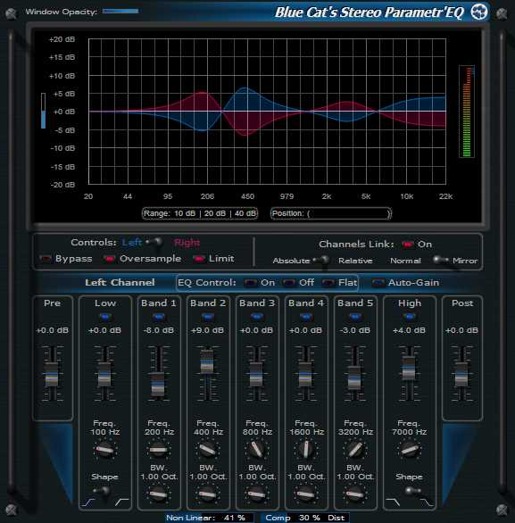 Stereo ParametrEQ v3.52 WiN MAC R2R   Images From Magesy® R Evolution™