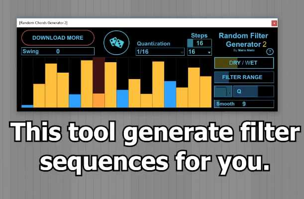 Random Filter Generator 2 for Ableton AMXD | Images From Magesy® R Evolution™