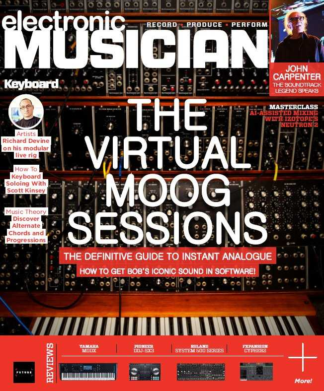 Electronic Musician   January 2019 | Images From Magesy® R Evolution™