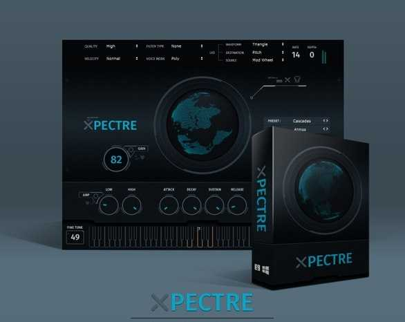 Xpectre v1.0.1 VSTi WiN x64 SYNTHiC4TE | Images From Magesy® R Evolution™