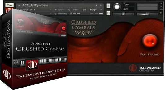 Orchestra Ancient Crushed Cymbals KONTAKT | Images From Magesy® R Evolution™