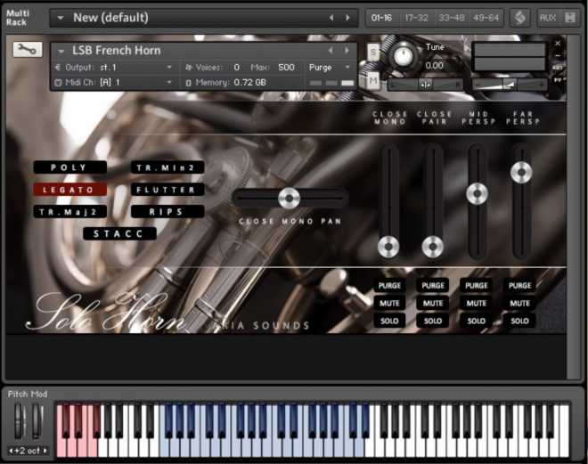 LSB Solo French Horn KONTAKT | Images From Magesy® R Evolution™