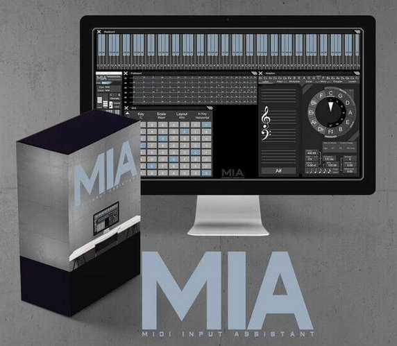 MIA Midi Input Assistant ALP MAX For LiVE | Images From Magesy® R Evolution™