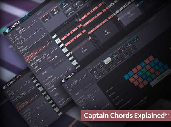 Captain Chords Explained TUTORiAL UPDATED SYNTHiC4TE | Images From Magesy® R Evolution™