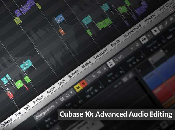 Cubase 10: Advanced Audio Editing TUTORiAL | Images From Magesy® R Evolution™