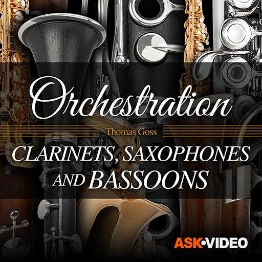 Clarinets, Saxophones and Bassoons Orchestration TUTORiAL | Images From Magesy® R Evolution™
