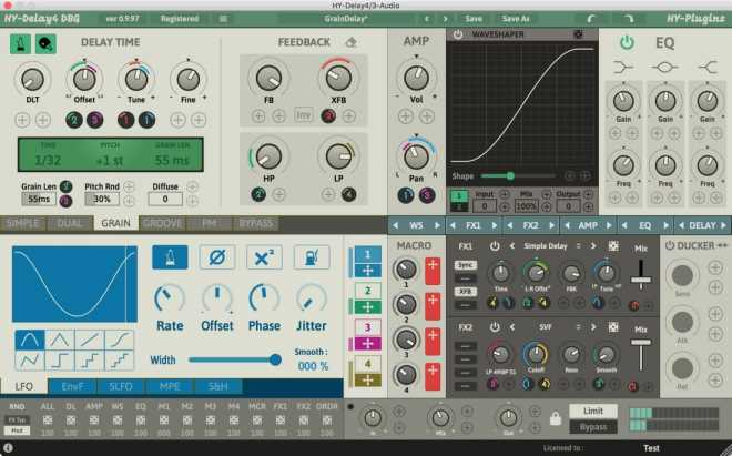 HY Delay4 v1.1.3 WiN MAC R2R | Images From Magesy® R Evolution™