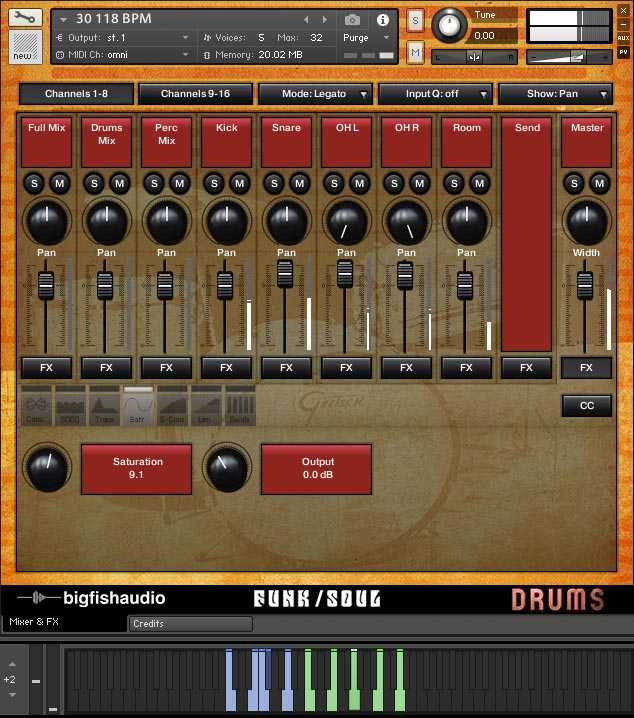 Funk Soul Vintage Drum Loops MULTiFORMAT At Magesy® R