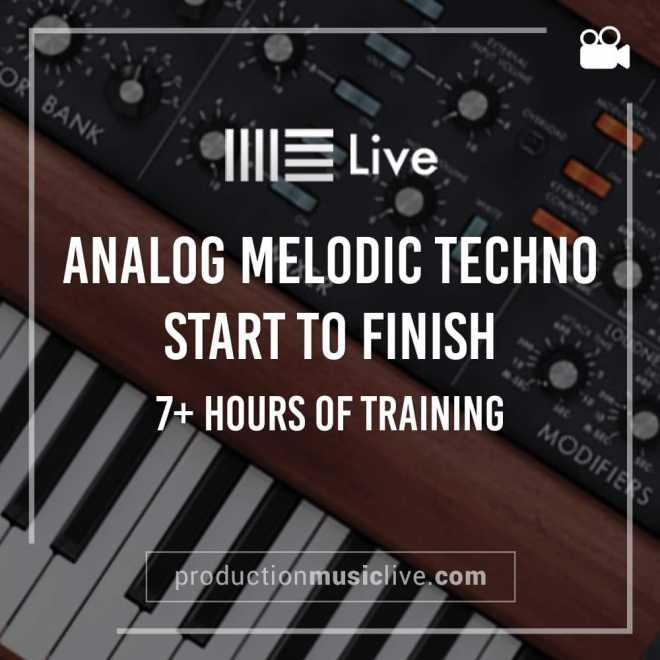 Analog Melodic Techno TUTORiAL | Images From Magesy® R Evolution™