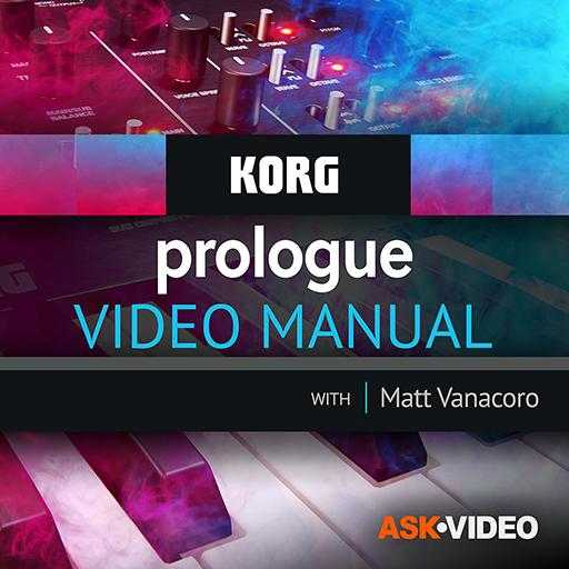 Korg Prologue Video Manual TUTORiAL | Images From Magesy® R Evolution™