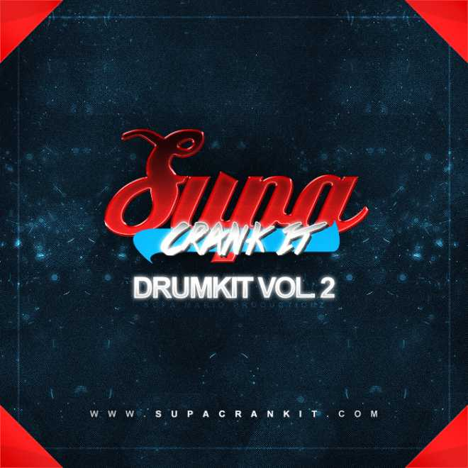 SUPACRANKIT Drumkit Vol.2 WAV SF2 | Images From Magesy® R Evolution™
