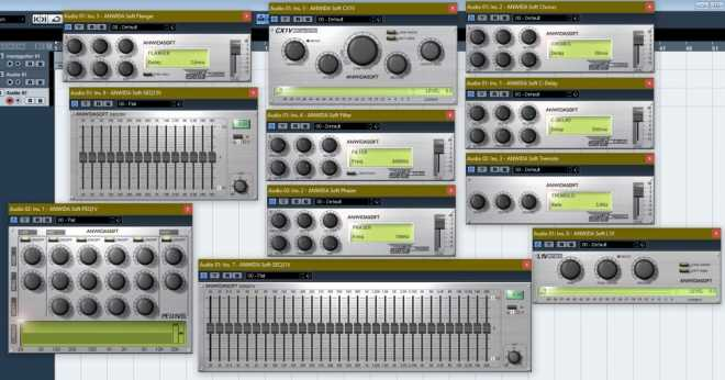 ANWIDA Soft Pack DX VST WiN ASSiGN | Images From Magesy® R Evolution™