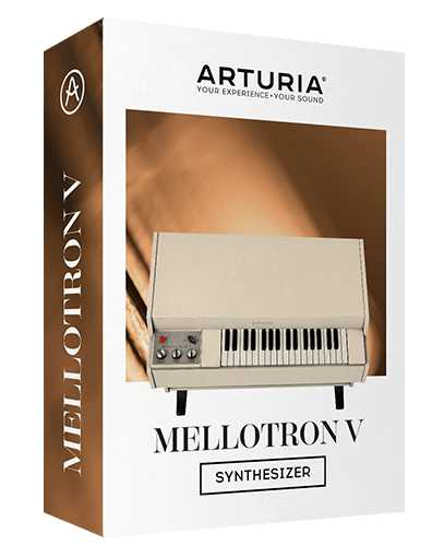 Mellotron V v1.1.0.3410 macOS CASHMERE | Images From Magesy® R Evolution™