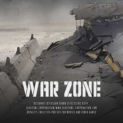 War Zone WAV AiFF | Images From Magesy® R Evolution™