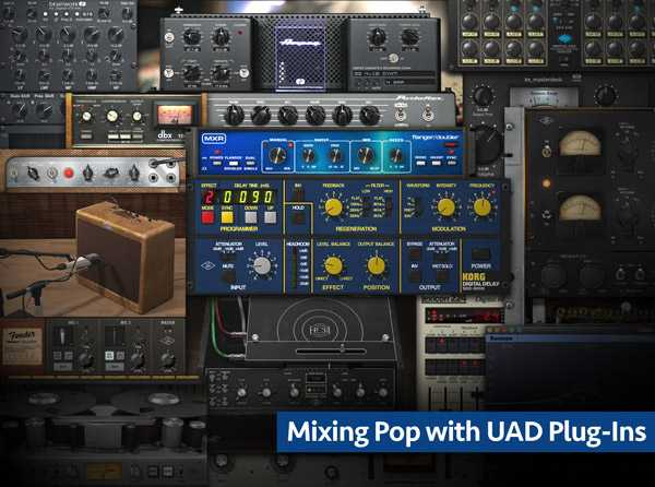 Mixing Pop with UAD Plug Ins TUTORiAL SYNTHiC4TE | Images From Magesy® R Evolution™
