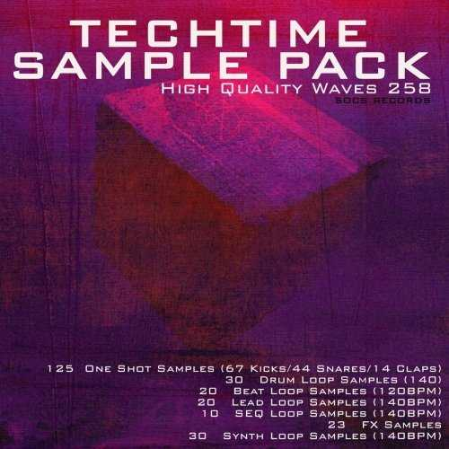 Tech Time Sample Pack WAV | Images From Magesy® R Evolution™