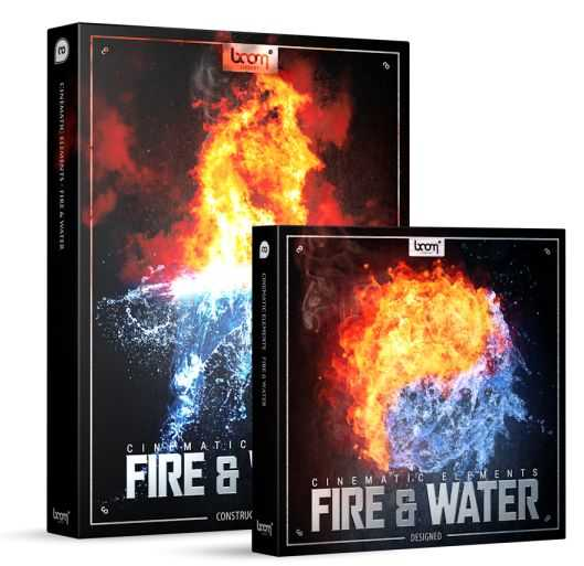 Cinematic Elements: Fire & Water Bundle WAV | Images From Magesy® R Evolution™