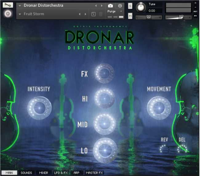 Distorchestra KONTAKT SYNTHiC4TE | Images From Magesy® R Evolution™