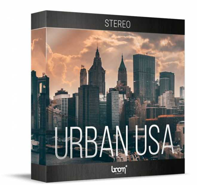 Urban USA 3D Stereo Edition WAV | Images From Magesy® R Evolution™