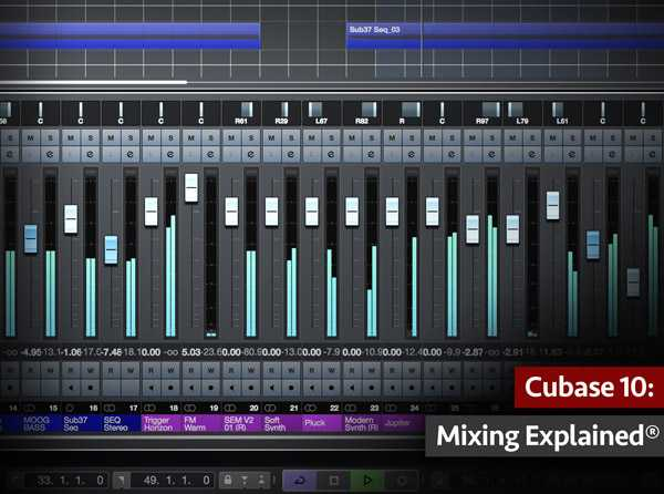 Cubase 10: Editing Audio Explained TUTORiAL SYNTHiC4TE | Images From Magesy® R Evolution™