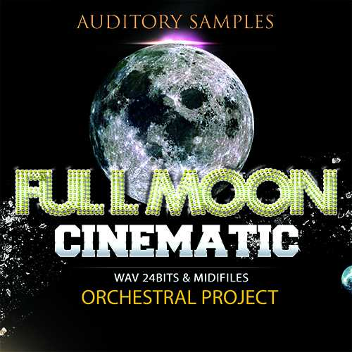 Cinematic Full Moon WAV MiDi MAGNETRiXX | Images From Magesy® R Evolution™