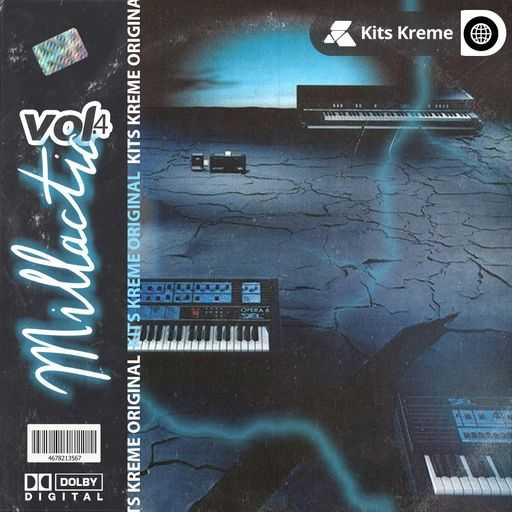 Millactic Vol.4 Melodic Loops WAV SYNTHiC4TE   Images From Magesy® R Evolution™