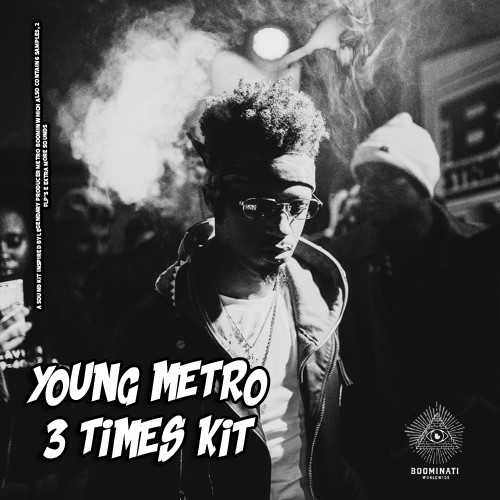 Young Metro 3 Times (Drum Kit) WAV FLP | Images From Magesy® R Evolution™