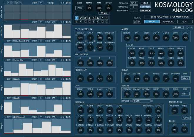 Kosmology Collection KONTAKT | Images From Magesy® R Evolution™