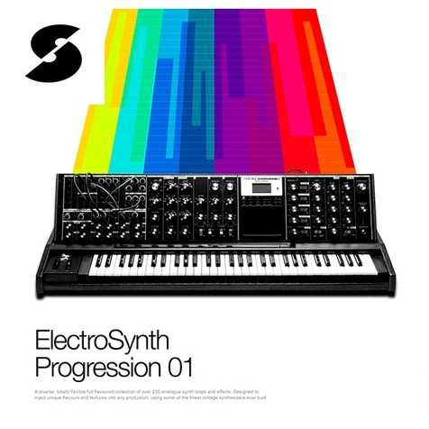 Electro Synth Progression 01 MULTiFORMAT   Images From Magesy® R Evolution™