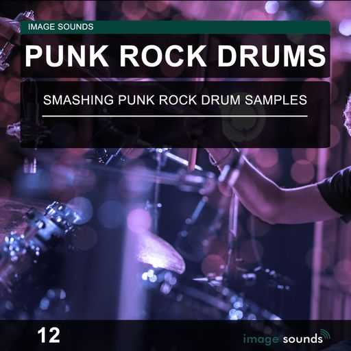 Punk Rock Drums 12 WAV | Images From Magesy® R Evolution™