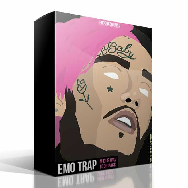 The Emo Trap Loop Pack WAV MiDi | Images From Magesy® R Evolution™