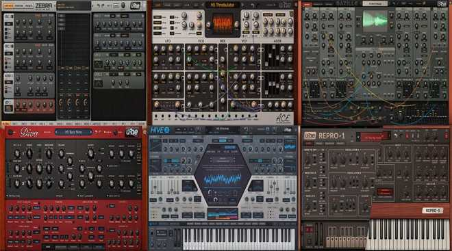 U he Synth Bundle 2020.1 WiN CE V.R | Images From Magesy® R Evolution™