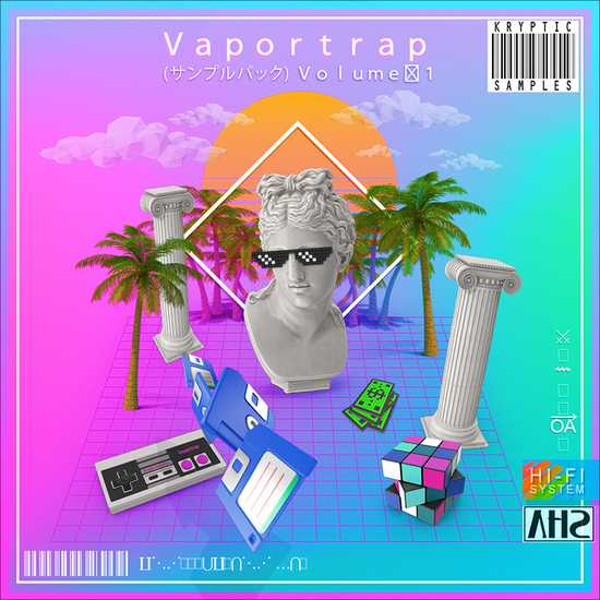 VaporTrap Vol.1 WAV MiDi   Images From Magesy® R Evolution™