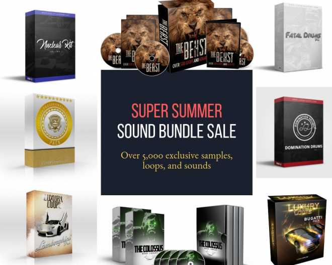 Super Summer Sound Bundle WAV MiDi | Images From Magesy® R Evolution™