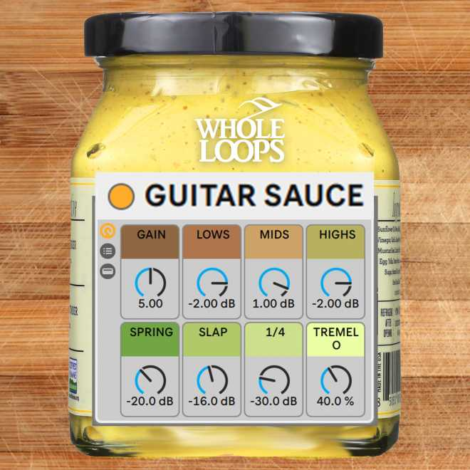 Guitar Sauce ABLETON PRESETS ADG | Images From Magesy® R Evolution™