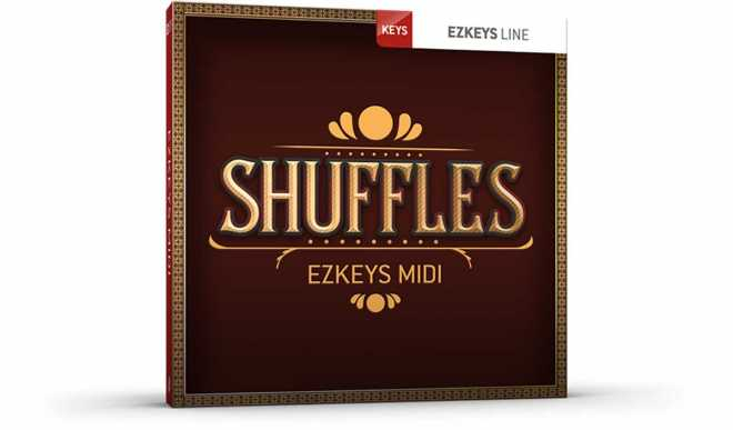 Shuffles EZkeys MiDi MAC | Images From Magesy® R Evolution™