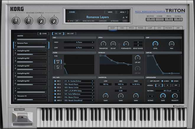 KORG TRiTON v1.0.0 WiN R2R | Images From Magesy® R Evolution™