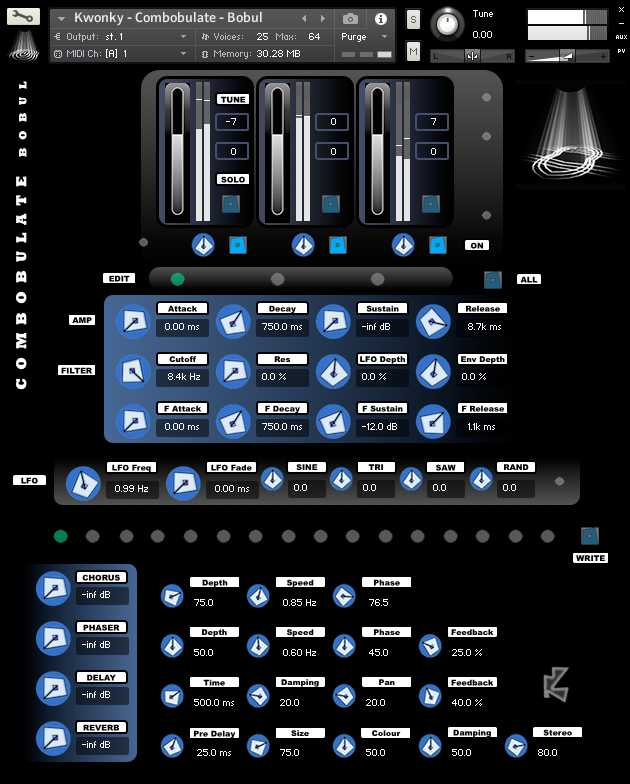 Combobulate Bundle KONTAKT HAPPY NEW YEAR | Images From Magesy® R Evolution™