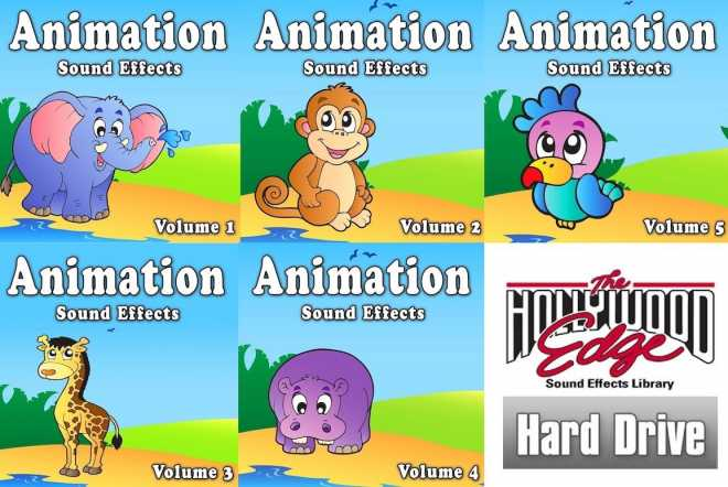 Animation Sound Effects FULL WAV | Images From Magesy® R Evolution™